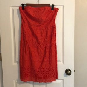 Old Navy Strapless Dress Sz6